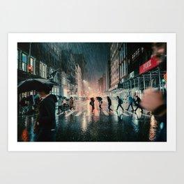 Soho, NYC Art Print