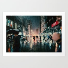 Soho, NYC Art Print
