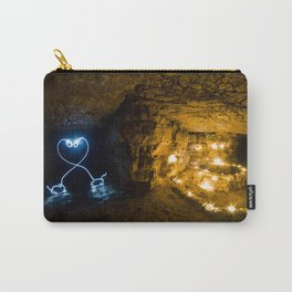Two Long Necked Dachshund fall in love Carry-All Pouch