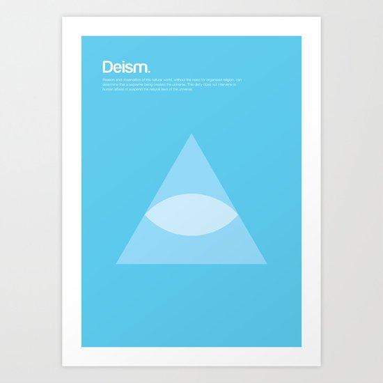 Deism Art Print