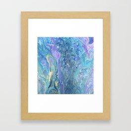 Paisley Gold Framed Art Print