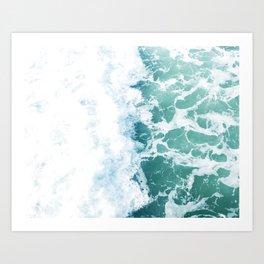 Pacific Wash Art Print