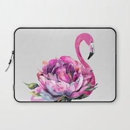 Flower Flamingo Laptop Sleeve