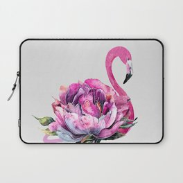 Flower Flamingo Laptop Sleeve