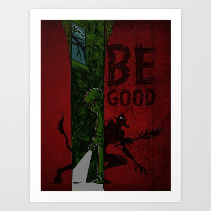 Left of Krampus Art Print