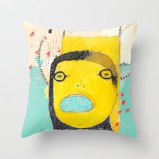 Nothing is impossible to a willing heart Throw Pillow