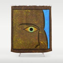 The Roman Eye. Shower Curtain