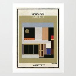 Nicholson+aalto Art Print