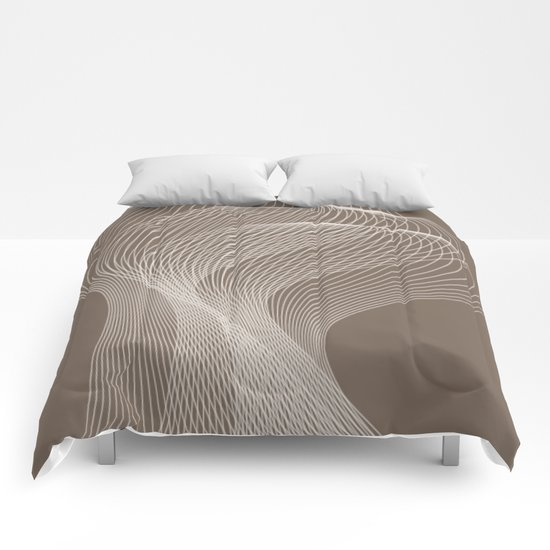 Abstract pattern 41 Comforters