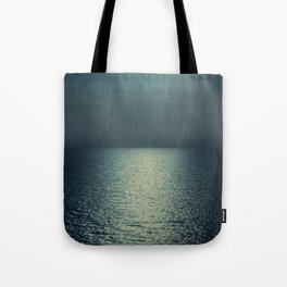sea - emerald sunset Tote Bag
