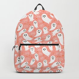 Friendly Ghosts in Pink Backpack
