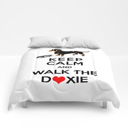 Walk the Doxie Comforters