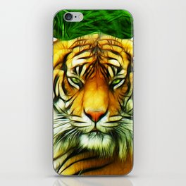 Tiger is Not Amused iPhone Skin