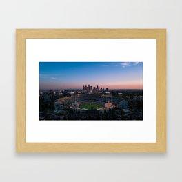 Dodger Stadium Framed Art Print