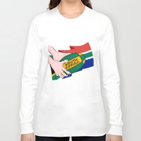 south africa Long Sleeve T-shirts featuring South Africa Rugby by mailboxdisco