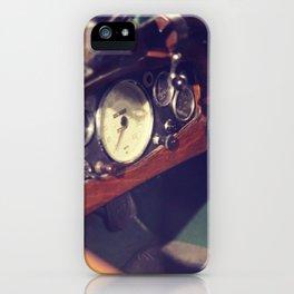 Classic Car Dashboard iPhone Case