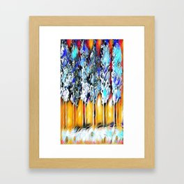 Forest of Nightmares:Awake Within Darkness Version 2 Framed Art Print