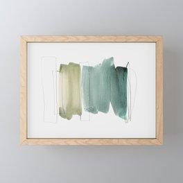minimalism 5 Framed Mini Art Print
