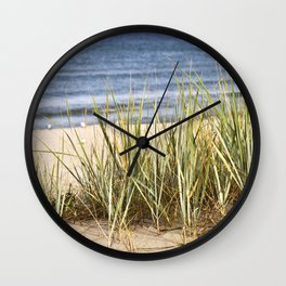 Sanddune - Seagrass - Baltic Sea - Island Ruegen Wall Clock