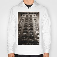 building Hoodies featuring SF Building by Mark Alder