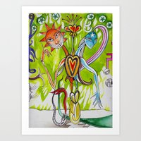 alchemy Art Prints featuring Alchemy  by LuxMundi