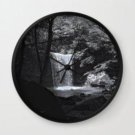 Ohiopyle's Cucumber Falls Wall Clock