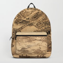 Map Of Collingwood 1875 Backpack