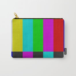NTSC Color Bars Carry-All Pouch