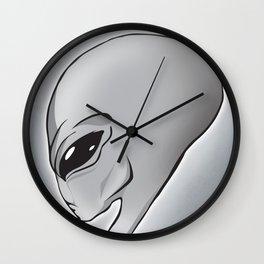 Halloween Theme [The Grey Alien] Wall Clock
