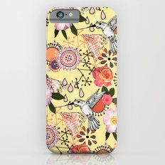 Feeling Fluttery Slim Case iPhone 6s