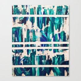 """Waves"" Collaborative Study Canvas Print"