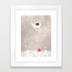 Starbelly Falling Framed Art Print