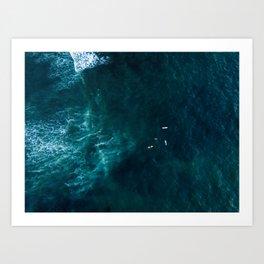 Surfbreak Art Print