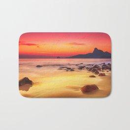 Sunrise over the Beach Bath Mat