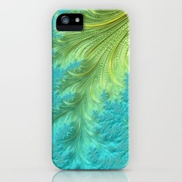 Tail Feather - Fractal Art iPhone Case