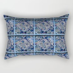 Blue windows Rectangular Pillow