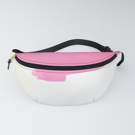 Pink Painting in Progress Fanny Pack