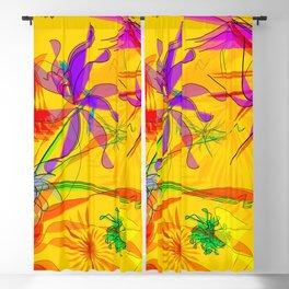 Appearance of harmony: beautiful art print for you Blackout Curtain