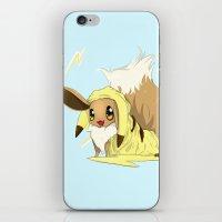 eevee iPhone & iPod Skins featuring Eevee-licious! by EeekGirl