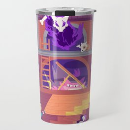 Tiny Worlds - Lavender Town Tower Travel Mug