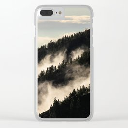 A Song Of Trees Clear iPhone Case