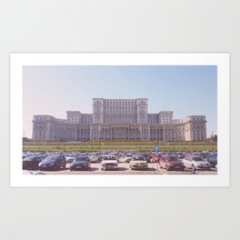 Romania's Pictures Art Print