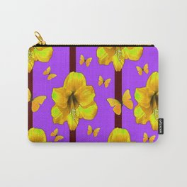 FOR THE LOVE OF BUTTERFLIES PURPLE ART Carry-All Pouch
