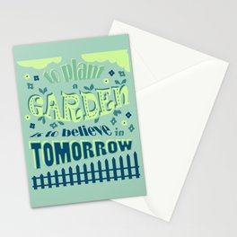 Plant a Garden Ver.1 #society6 #decor #buyart Stationery Cards