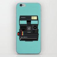 polaroid iPhone & iPod Skins featuring Polaroid by Chris Redford