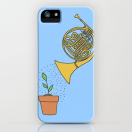 Watering Horn iPhone Case