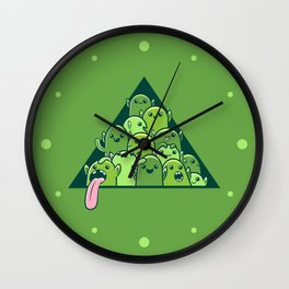 Itty-bitty Goblin Hoard Wall Clock