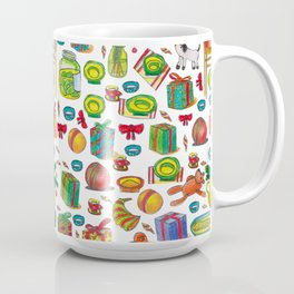NEY YEAR PATTERN Coffee Mug