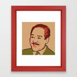 Langston Hughes Framed Art Print