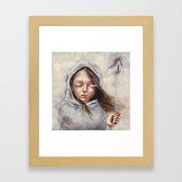 You were home Framed Art Print